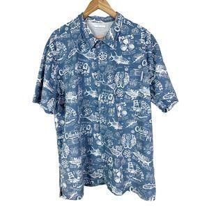 Columbia PFG All Over Print Vented Shirt XL
